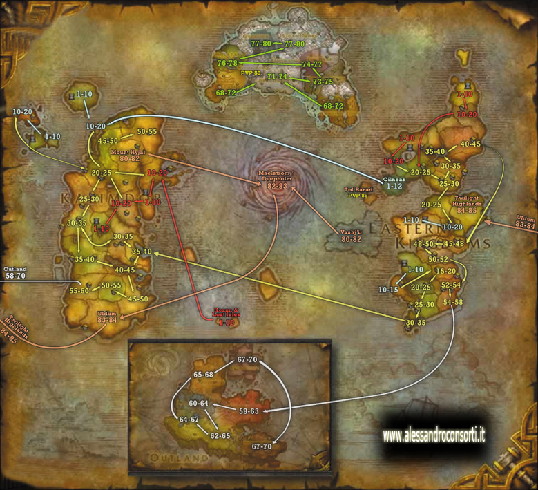 World Of Warcraft Cataclysm - Livellare