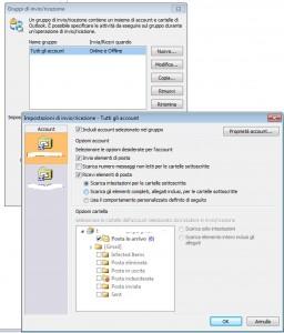 Impostazioni IMAP Invio Ricezione Outlook