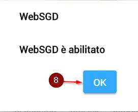 WebSGD abilitato