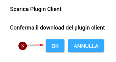 WebSGD: Conferma il download del plugin client